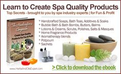 Guide To Creating Spa Products