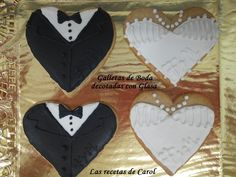 Galletas de boda decoradas