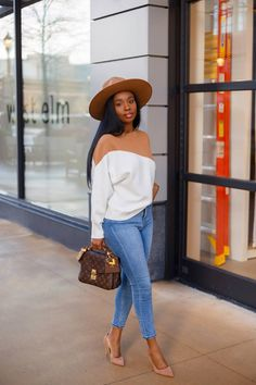 Winter Fashion Outfits, Fall Winter Outfits, Autumn Winter Fashion, Cute Casual Outfits, Chic Outfits, Casual Chic, Mode Jeans, Black Girl Fashion, How To Look Classy