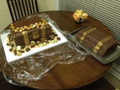 The Treasure Chest Cake