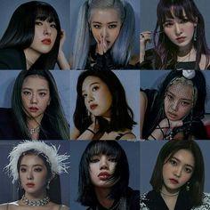 Red Velvet Joy, Black Velvet, Kpop Couples, Cute Couples, K Pop, Kpop Girl Groups, Kpop Girls, Velvet Wallpaper, Blackpink Photos