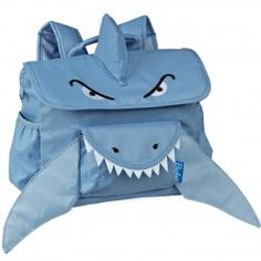 The perfect backpack for your little boy or girl by School Bags for Kids, an adorable Blue Animal Pack Shark backpack. Perfectly sized for y...