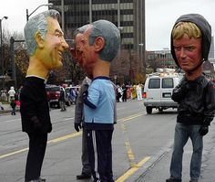 Giant Paper Mache Heads | Archive for the 'The Navy' Category
