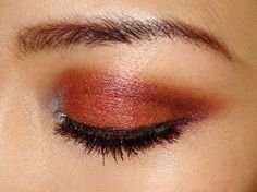 reddish brown eyes