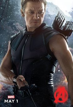 Hawkeye rocks it in this #Avengers #AgeOfUltron poster!