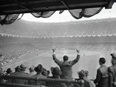 Home Run, 1939 World Series Bettmann Archive Fine Art Print Poster