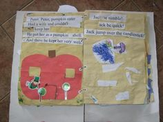 Nursery Rhyme Booklet to Make