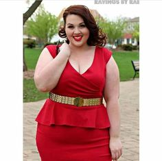 dba2d207b6753 Outfit of the Day Vintage Glamour 2 Beautiful plus size shapewear and bras  to help you rock outfits like this!