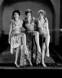 The sexy happened in all decades. The 1920s. Flappers