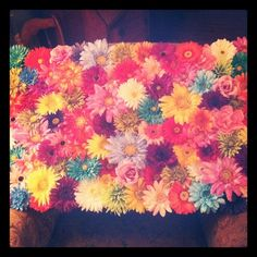 flower wall decoration