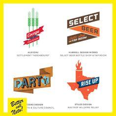 #6EjemplosDeTendenciasEnLogotipos 1. Banderas #BetterCallNeto #Design #Diseño #Creativity www.bettercallneto.com