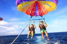 [ ] parasailing!         this was absolutly the funnest thing i've ever done.