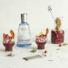 Cocktail Recipe: Gin Mare Sangria Nostrum