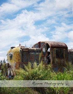 Deserted Train 8x10 Print by RyannePhotography on Etsy, via Etsy.