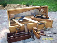 vintage carpenters tool box - Google Search