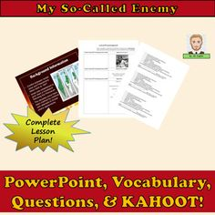 My So-Called Enemy Common Core Lesson Plan Level school Resources Art School Resources Resources Resource Planning Year Year Writing Tips writing tips high school hacks lessons grammar grammar school English teachers school lesson planning English Lesson Plans, English Lessons, Teaching English, English Teachers, English Classroom, English Grammar, English Writing, Middle School Teachers, New Teachers