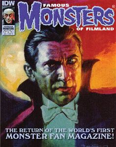 Famous Monsters of Filmland Issue #251 cover art by Basil Gogos.