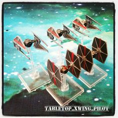Blood stripes! X-wing miniatures.