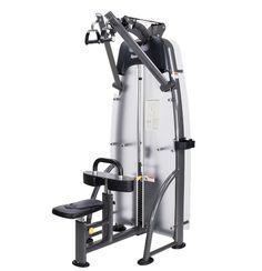 STATUS SERIE S-916 Onafhankelijke lat pull down  - Onafhankelijke beweging - Ergonomische roterende handgrepen - Zitting is gasveer ondersteund - Extra tussen-gewichten 2x 1.5 Kg instelbaar