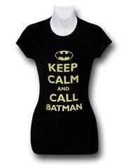 Batman Keep Calm Women's T-Shirt