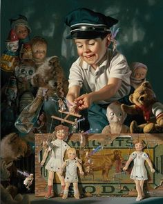 bob byerley  I have this painting.  Bob Byerley is one of my favs!