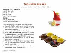 Tupperware - Tartelettes aux noix
