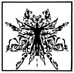 Vitruvian Notan by ~ScottAronow on deviantART