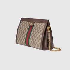 0eed8db1b8b4e Gucci Ophidia GG Supreme shoulder bag Detail 2 Luxury Handbags