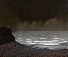 'Storm out on the Irish Sea' by British artist Richard Cartwright (b.1951).