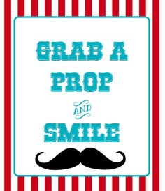 Circus Party Photo Booth Free Printable Sign