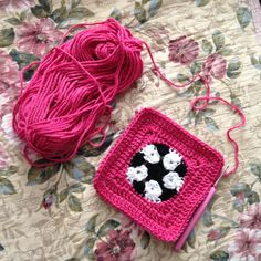 Crochet Soccer Ball Square - Tutorial ❥ 4U // hf