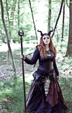 #LARP forest witch