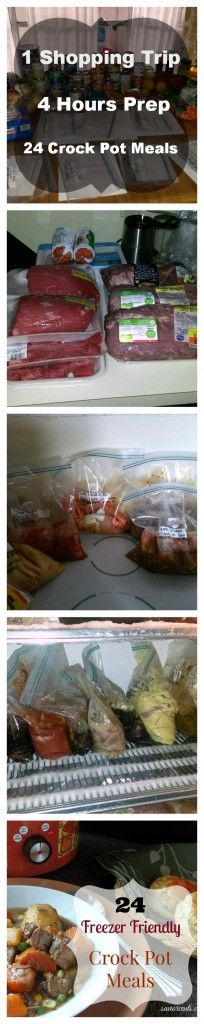 Freezer friendly/ crock pot meals