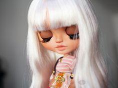 Opal the Elephant Enchantress ooak Blythe doll par KarolinFelix