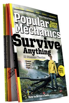 New work from my team at Popular Mechanics:   The Science, Technology, Automotive, Home and Adventure magazine.   April 2013: Are You Prepared? Hurricanes. Tornadoes. Earthquakes. Mother Nature can be harsh. Our guide tells you how to plan for the worst and protect yourself, family, and home. Give it a Read!!