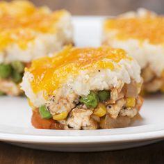 """Mini Cauliflower """"Shepherd's Pies"""""""