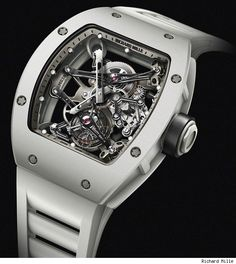 This is Bubba Watson's Richard Mille design watch.  It's 500K!  Rafa Nadal has the same one in black which is also very cool.  When I make the tour, I'm getting one of these...for my caddie!