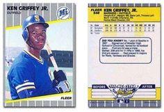 Ken Griffey Jr. Rookie Card 1989 Fleer Baseball Card #548 Mariners - Mint Condition by Fleer. $1.99. Ken Griffey Jr. Rookie Card 1989 Fleer Baseball Card #548 Mariners - Mint Condition. Save 93% Off!