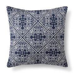 Threshold™ Bandana Print Toss Pillow - Blue