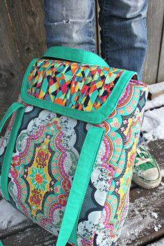 Petrillo Bag PDF Sewing Pattern by sewsweetness, via Flickr #sewing