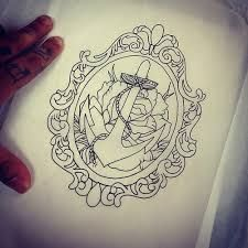 Image result for frame thigh tattoo