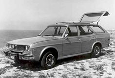 1975 Mazda Rx-4 Wagon.  We had two fo these.  A red one and a silver one.