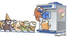 Journée de la glace #Dessin de kagijouurushi