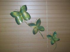 mariposas hechas a mano | mariposas decorativas mariposas botellas plasticas manual