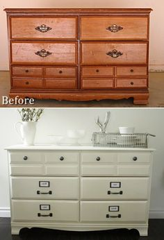Refurbishing wood furniture