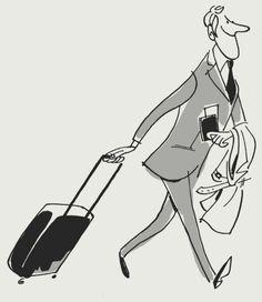 Illustration for Star Alliance and Monocle by Satoshi Hashimoto Retro Illustration, Character Illustration, Graphic Design Illustration, Vector Illustrations, Satire, Drawing Exercises, Retro Cartoons, Cartoon Sketches, Illustrators