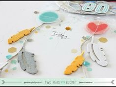 ▶ In The Mood To Scrap - DreamCatcher (Go!) by Janna Werner (Two Peas in  a Bucket) - YouTube Loooove this LO