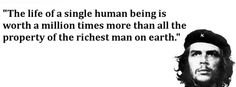The human life.
