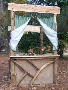 Memphis Botanical Garden puppet stage