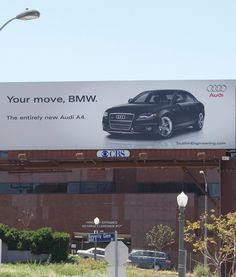One of the best advertising battles in history. Audi vs BMW. Here is what happened.